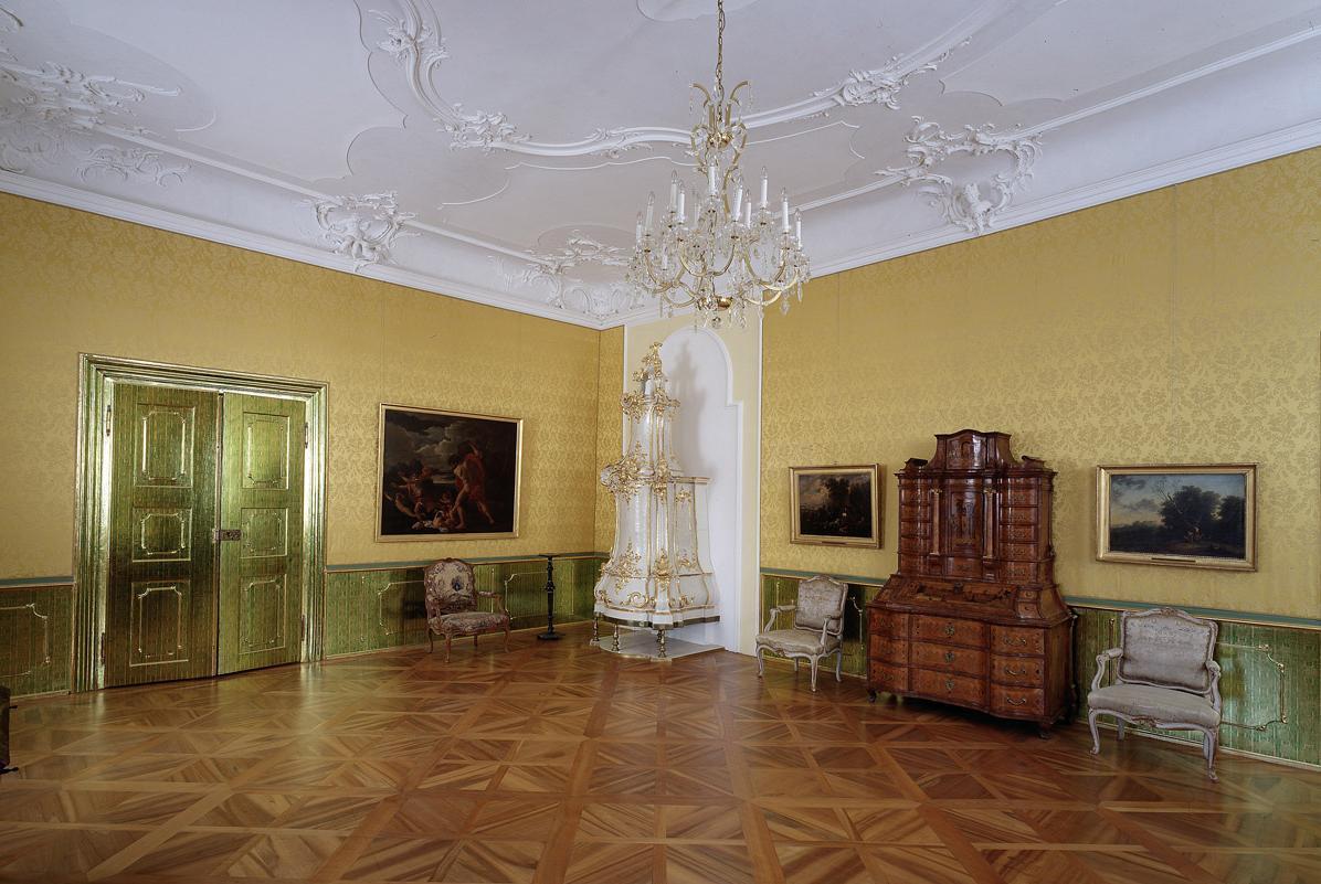 Fürstenzimmer im Neuen Schloss Tettnang