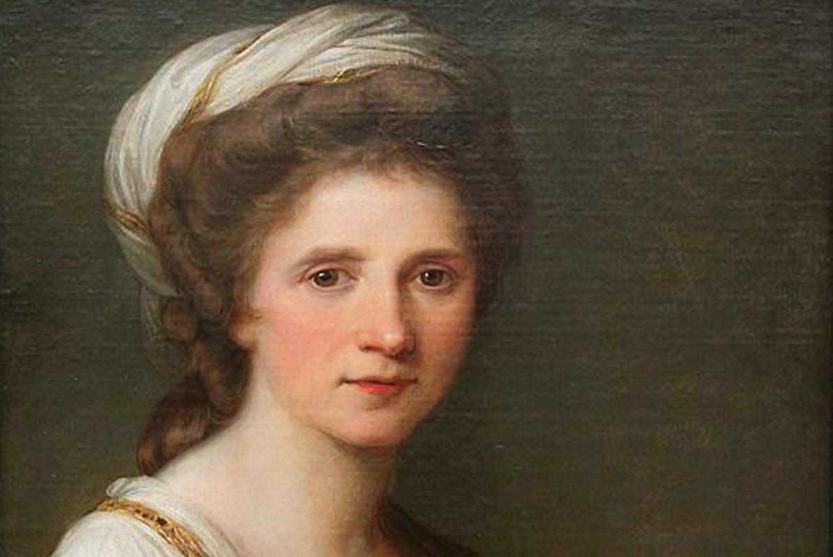 Selbstportrait der Angelika Kauffmann; Foto: Wikipedia, gemeinfrei
