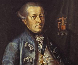 Detail eines Portraits Graf Anton IV.
