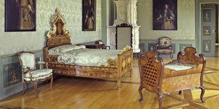 Zweites Grünes Zimmer im Neuen Schloss Tettnang