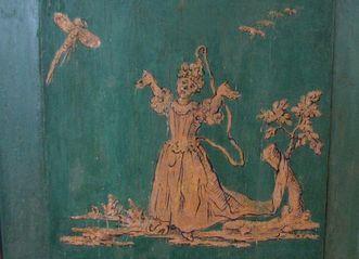 Lambris im Zweiten Grünen Zimmer im Neuen Schloss Tettnang