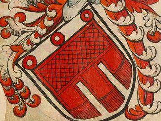 Neues Schloss Tettnang, Wappen des Hauses Montfort