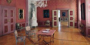 Neues Schloss Tettnang, zweites rotes Zimmer