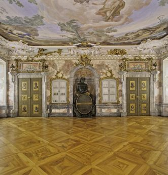 Bacchussaal im Neuen Schloss Tettnang