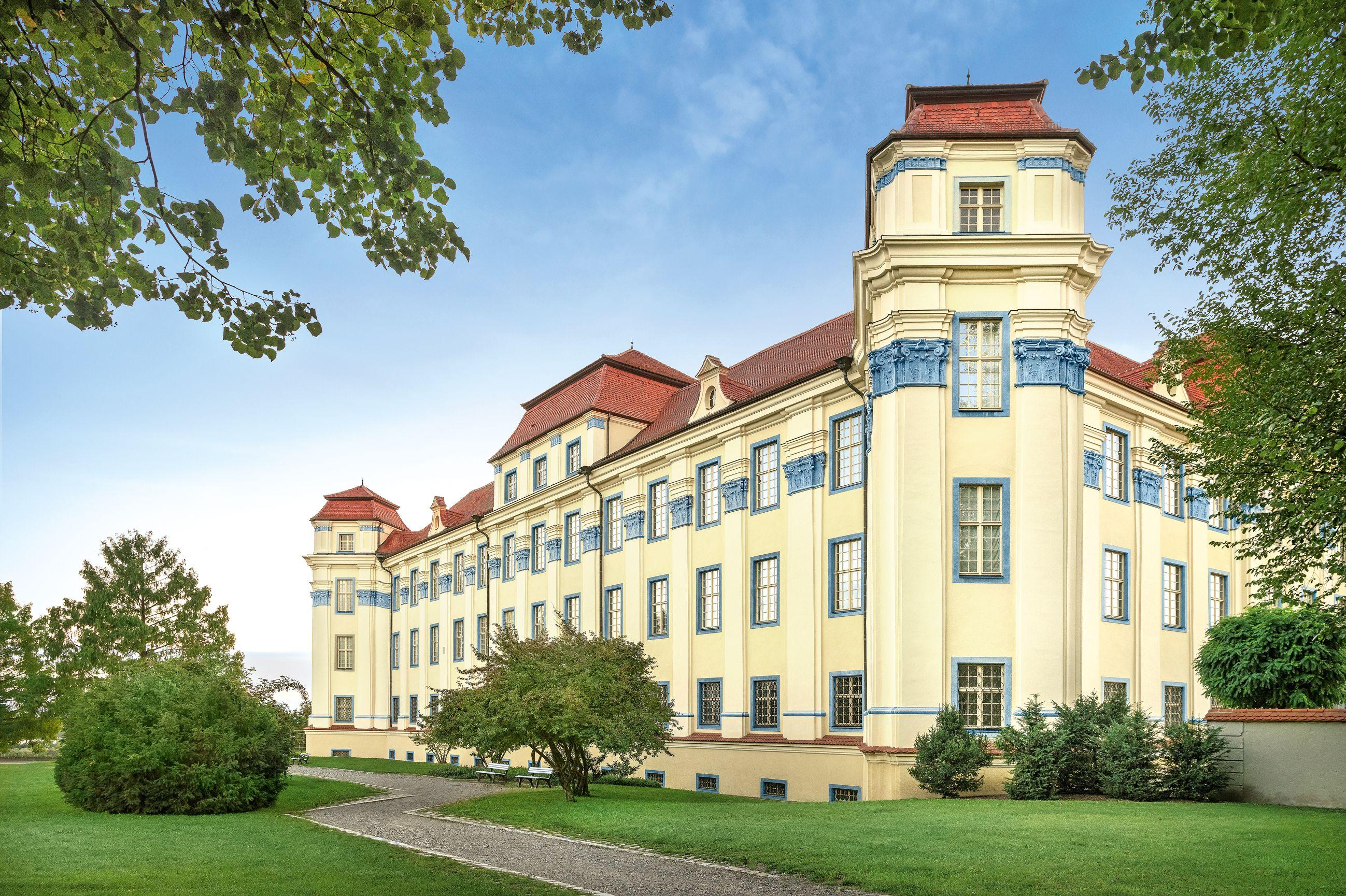 Nouveau Château de Tettnang, Vue extérieure; l'image: Staatliche Schlösser und Gärten Baden-Württemberg, Günther Bayerl