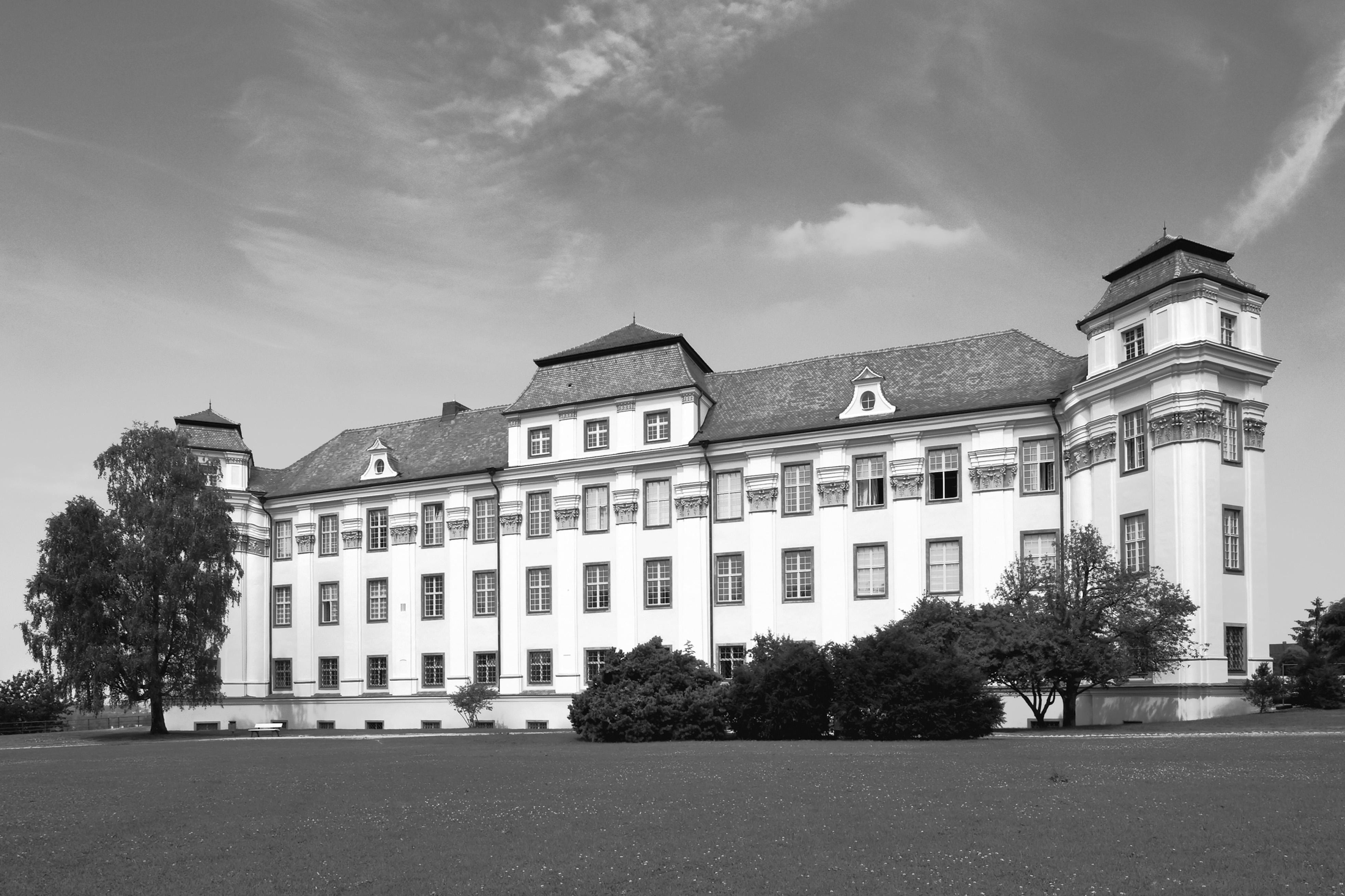 Neues Schloss Tettnang, Außenansicht